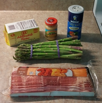 Ingredients for Asparagus