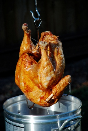 Deep Fat Fried Turkey